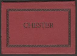 Souvenir Photo Booklet, Chester, Cheshire, C.1920s - Twelve Sepia Photographs - Places