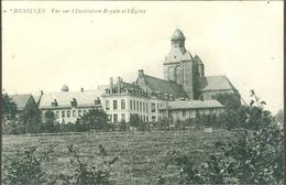 Messines (Meesen - Mesen)  :   Vue Sur L'Institution Royale Et L'Eglise - Mesen