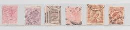 NOUVELLE ZELANDE N° 53 61 64 66 117 130 (YT) VALEUR 51,70 EUROS VOIR PHOTOS R/V - Used Stamps