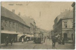 Denmark ODENSE SPORVOGN Tram Vestergade And Good Streetlife C. 1908 - Denemarken