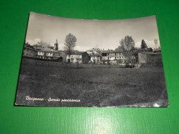 Cartolina Divignano - Scorcio Panoramico 1956 - Verbania
