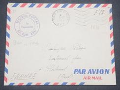 FRANCE - Enveloppe En FM Du Secteur Postal 87 020 Pour Montmirat En 1962 - L 8802 - Guerra D'Algeria