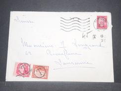 SUISSE - Taxes De Lausanne Sur Enveloppe De France En 1969  Timbres Postes Ayant Servi De Taxes - L 8804 - Impuesto
