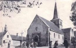 58 - Nievre - DORNES  - L Eglise ( Animée , Sortie De Messe ) - France