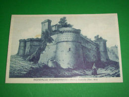 Cartolina Moncalvo Monferrato ( Asti ) - Antico Castello 1930 Ca - N. 196 - Asti