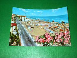 Cartolina Viserba - Viale Dati E Veduta Della Spiaggia 1961 - Rimini
