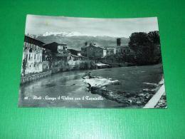 Cartolina Rieti - Lungo Il Velino Con Il Terminillo 1952 - Rieti