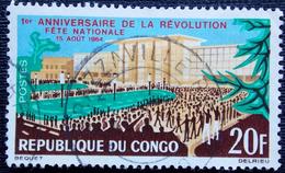 Congo Y&T 169 Oblitération BRAZZAVILLE . FETE NATIONALE - Congo - Brazzaville