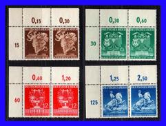 1940 - Alemania - Sc. 502 - 505 - MNH -  AL-119 - Alemania