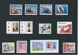 2016 - Switzerland - Stamps Set Issue 1/2016 - Ungebraucht