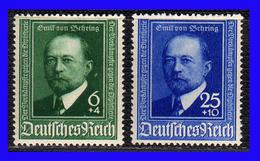 1940 - Alemania - Sc. B 186 - B 187 - MNH -  AL-141 - Alemania