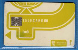 MALTA - Telemalta 60 - Lm3 Corporation . Usata . Vedi Descrizione. (6) - Malta