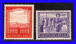 1941 - Alemania - Sc. B 198 - B 199 - MNH -  AL-125 - Alemania