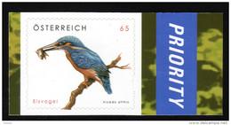 ÖSTERREICH 2008 ** Eisvogel, Kingfischer - Alcedo Attis - Selbstklebend MNH - Non Classés