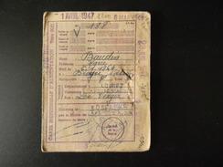 Carte Individuelle D'alimentation 1946 La Ferte Saint Aubin - Unclassified
