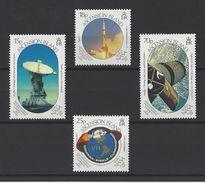 ASCENSION . YT 486/ 489 Neuf ** 20e Anniversaire Du 1er Homme Sur La Lune 1989 - Ascension