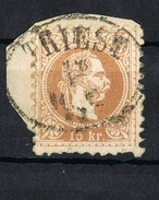 1874 -1884 Issues Of Austro-Hungarian Monarchy - Fine Prin PERFORATE 9 1/2 USING ITALY FROM TRIESTE - Oriente Austriaco