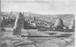 ¤¤  -  EGYPTE   -   LE CAIRE   - Vue Générale Des Tombeaux Des Califes Et Citadelle     -  ¤¤ - Cairo