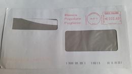 706  - BANCA POPOLARE PUGLIESE 26/7/11 - Affrancature Meccaniche Rosse (EMA)