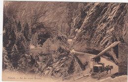 Viamala - Postkutsche Bei Der Ersten Brücke - 1910      (P-52-10421) - GR Grisons