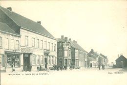 Mouscron - Moeskroen  :  Place De La Station - Moeskroen