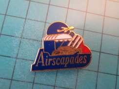 Pin512H Pin's Pins : Rare Et Belle Qualité : COMPAGNIE AERIENNE AIR FRANCE AIRSCAPADE AVION AVIATION  , Marquage Au Dos - Arthus Bertrand