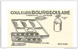Buvard BOURGEOIS AINE Couleurs  BOURGEOIS AINE Fabrication Française - Papeterie
