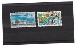 EDY279 - NIGER , Due Valori Diversi  ***  MNH  Posta Aerea - Niger (1960-...)