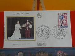 FDC > 1980-1989 - Marionnettes- 08 Charleville Mézières - 25.9.1982 - 1er Jour, Coté 3€ - FDC