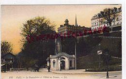 64 - PAU - LE FUNICULAIRE ET L' HOTEL DE FRANCE - Pau