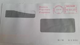 732 - BANCA POPOLARE PUGLIESE 12/5/9 - Affrancature Meccaniche Rosse (EMA)