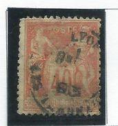 Timbre France Obliteré N° 70 - 1876-1878 Sage (Type I)