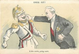 MILITARIA Guerre 1914.18 Caricature Anti Allemande Anti Kaiser 2 Scans - Guerre 1914-18