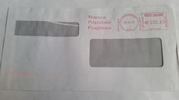 754 - BANCA POPOLARE PUGLIESE 2/3/10 - Affrancature Meccaniche Rosse (EMA)