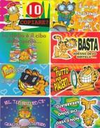 10917-LOTTICINO N°.8 CARDS-FERRERO MERENDE CARDS GARFIELD - Kinder & Diddl