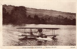 V10304  Cpa Aviation - Avion Amphibie Schreck - Biplace 180 CV - Luchtvaart