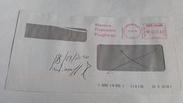 781 - BANCA POPOLARE PUGLIESE 17/3/10 - Affrancature Meccaniche Rosse (EMA)