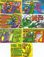 10920-LOTTICINO N°.7 CARDS-FERRERO MERENDE CARDS MOSTRI DI BRAVURA - Otros