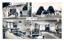 AA361 - LONS LE SAUNIER - QUELQUES VUES DU C.I.  60 REGIMENT D INFANTERIE - Lons Le Saunier