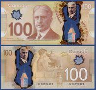 Kanada, Canada,  100 Dollar, P. 110a, UNC, 2011 ! - Kanada