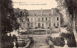 51- ISLE SUR MARNE - LE CHÂTEAU - France