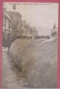 25 - PONTARLIER--Faubourg Saint Etienne Sous La Neige (31 Janvier 1907 )--animé - Pontarlier