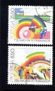 N° 1507-8 -1981 - Used Stamps
