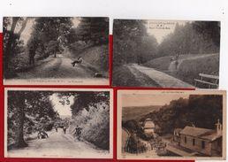 12 Cpa Carte Postale Ancienne - Capvern Les Bains Rond Point Du Bois Etablisement Thermal Ect - Autres Communes