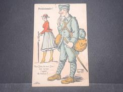 MILITARIA  - Carte Postale Humoristique Illustré Par Griff , Voyagée En 1918 - L 8894 - Humoristiques