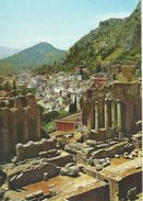 Taormina  Teatro Greco - Greek Teatre.    Italy.  # 06415 - Italy