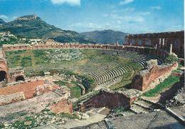 Taormina  Teatro Greco - Greek Teatre.    Italy.  # 06416 - Italy