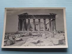 ACROPOLIS Athens / Athene - Le Parthénon ( Zie Foto Voor Detail ) Anno 1953 !! - Lieux