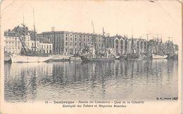 ¤¤  -  41   -   DUNKERQUE    -  Bassin Du Commerce  - Quai De La Citadelle - Entrepot Des Tabac Et Magasin Bourdon - Dunkerque