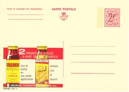 PUBLIBEL 2341 F  COLORICIRE - Meubles Parquets Carrelages. Neuf/ Nieuw - Enteros Postales